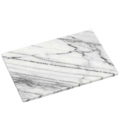 white marble cutting board wadiga