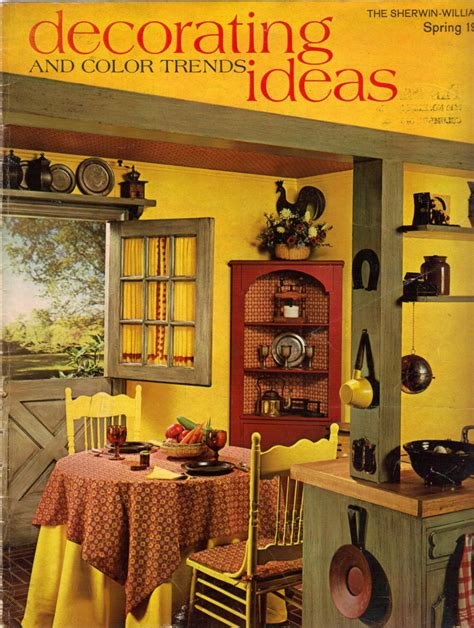 www interior design of kitchen 1960s decorating style 16 pages of painting ideas from 1975