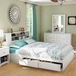 Lit Avec Rangement Intégré : 26 t tes de lit avec rangement int gr pour votre chambre meubles pinterest lit avec ~ Teatrodelosmanantiales.com Idées de Décoration
