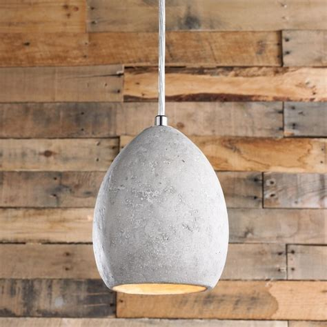 mini concrete dome pendant pendant lighting  shades