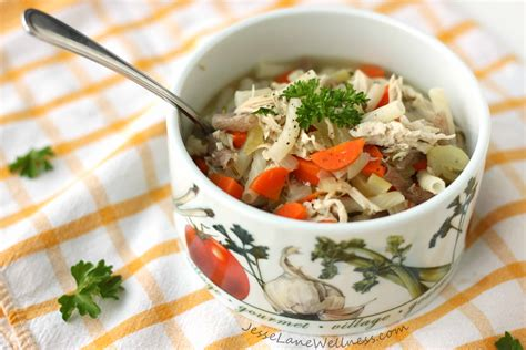 organic soup kitchen healthy chicken noodle soup recipe by wellness 1234