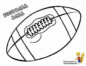 football printables coloring pages - classic football coloring free quarterback kids