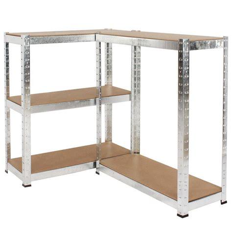 Garage Storage Racking Shelving by 500kg Heavy Duty 5 Tier Metal Storage Garage Shelving