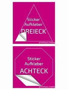 Achteck Berechnen : aufkleber drucken sticker drucken klebefolie bedrucken ~ Themetempest.com Abrechnung