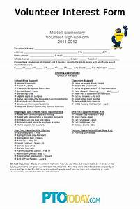 volunteer application forms templates ninja With volunteer questionnaire template