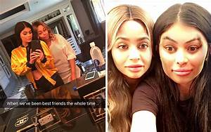 Kylie Jenner And Blac Chyna PSYCH We39re Actually BFFs