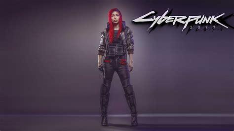 Cyberpunk 2077 Female UHD 4K Wallpaper