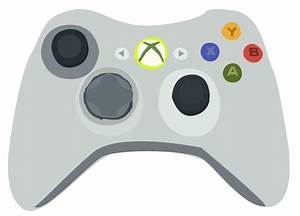 Xbox 360 Controller Vector by KayBran on DeviantArt