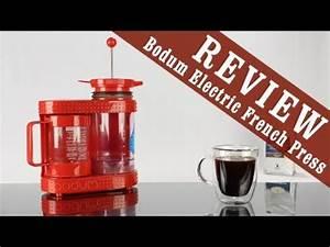 French Press Kaffeepulver : review bodum bistro electric french press coffee tea maker or dripper youtube ~ Orissabook.com Haus und Dekorationen