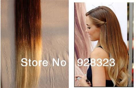 Eurasian Luxy Light Brown Weft Hair With Clips Two Tone