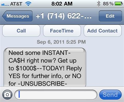 spam text messages iphone how to block text message spam on your iphone at t cnet