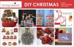 diy christmas recipes free printables gift ideas home decor