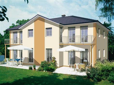 Doppelhaus Fertighaus