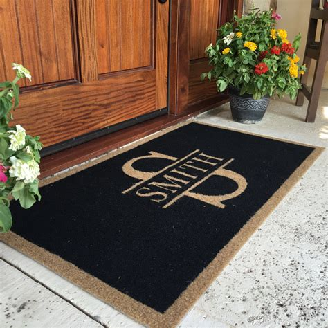 custom made doormats the most durable and custom door mat available