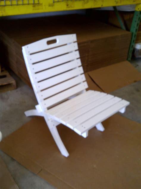 tri fold chair plastic polymer fabrication in ormond florida