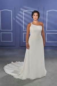 inexpensive plus size wedding dresses cheap wedding dress one shoulder cheap chiffon plus size bridal gown for sweep
