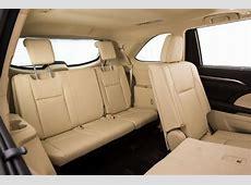 2014 Toyota Kluger Grandethird row seats