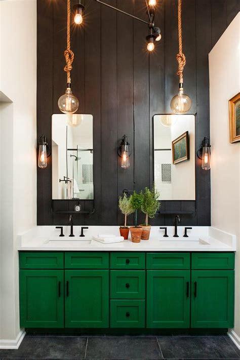Green Bathroom Backsplash by Shiplap Backsplash Design Ideas