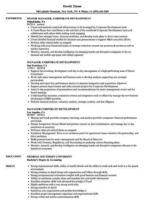Corporate Development Resume  Resume Ideas. Case Management Resume. Hunter Resume. Resume Objective Samples For Any Job. Salon Receptionist Resume Sample. Regulatory Affairs Associate Resume. B Tech Resume. Skills To Add On Resume. Pastry Chef Resume Examples