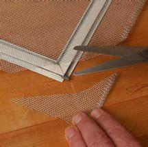 repair  replace window screens