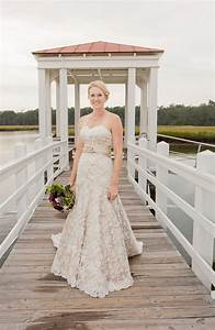 items similar to champagne and ivory lace wedding dress With ivory champagne wedding dress