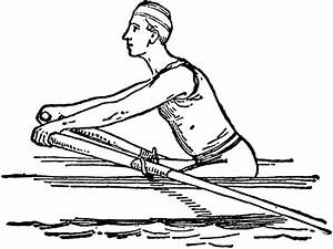 Free coloring pages of oar