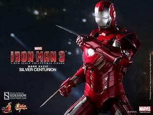 Marvel Iron Man - Silver Centurion - Mark 33 Sixth Scale ...