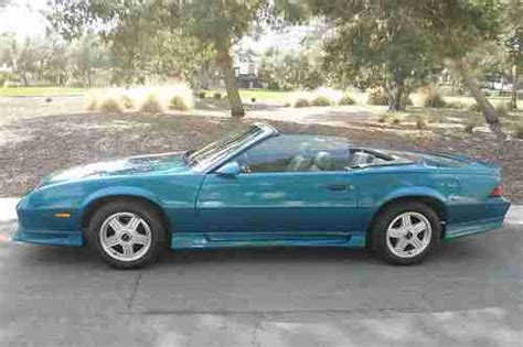 find   camaro rs convertible teal auto