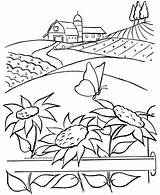 Coloring Farm Pages sketch template