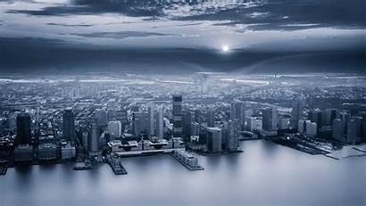 Gray Aerial Sky 4k Background 1080p Coast