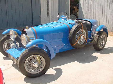 Bugatti Kit Car Manufacturers by Who Makes A Bugatti Type 35