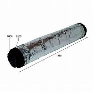 Double Flux Aldes : liaison acoustique 150 mm silencieux r seau vmc ~ Edinachiropracticcenter.com Idées de Décoration