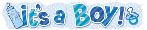 boy blue text wbaby cake table topper standing