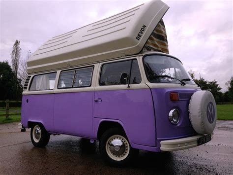 Volkswagen Type 2 Camper Van Devon Moonraker Rhd Beautiful