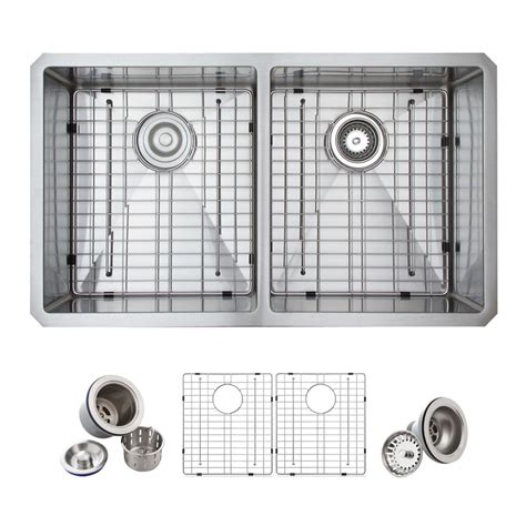 glacier bay all in one kitchen sink glacier bay all in one undermount stainless steel 33 in 9224