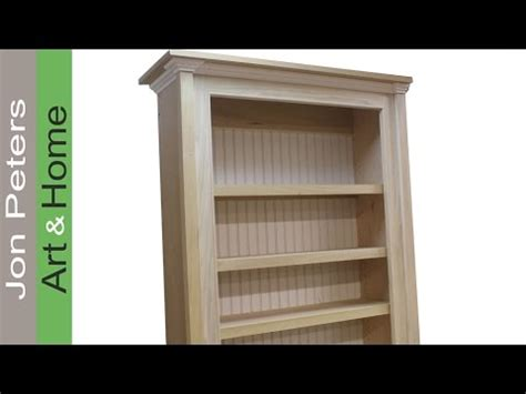 How To Make A Bookcase by How To Build A Bookcase Bookshelf Cabinet