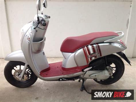 [มอเตอร์ไซค์มือสอง] Honda Scoopy i Club 12 หัวฉีด สีเทา รถ 3 เดือน สวย