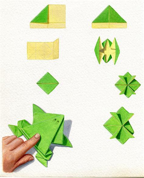 exceptional faire grenouille en papier 14 pliage papier