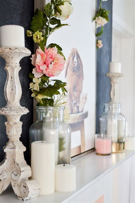 Simple Spring Cottage Mantel Decorating Fox Hollow Cottage