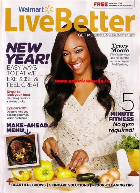 walmart canada live better magazine new year 2015 edition