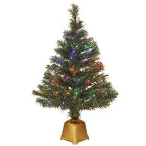 national tree company 2 67 ft fiber optic radiance fireworks artificial christmas tree szrx7
