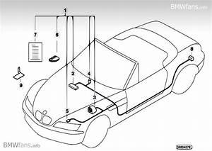 Alarm System Bmw Z3 E36  Z3 2 8  M52   U2014 Bmw Parts Catalog