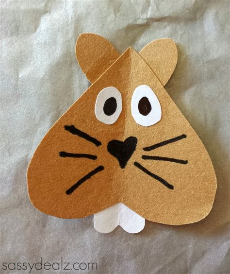groundhogs day toilet paper roll craft for crafty 478 | groundhog day craft