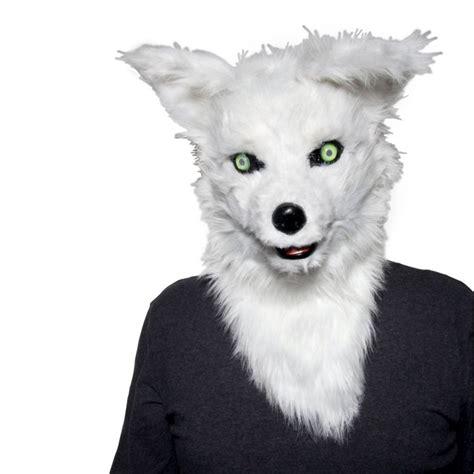 fox costume head puljunet