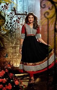 Parineeti Chopra in anarkali salwar kameez black dress hd ...