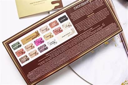 Gold Eyeshadow Palette Chocolate Metallic Too Faced
