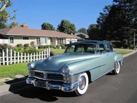 1952 Chrysler New Yorker by All American сlassic сars 1952 Chrysler New Yorker 4