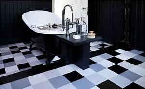 Laminat Fürs Bad : pvc boden badezimmer muster badezimmer blog ~ Watch28wear.com Haus und Dekorationen
