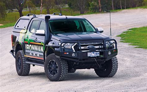 ranger pxii deluxe commercial bull bar ironman 4x4