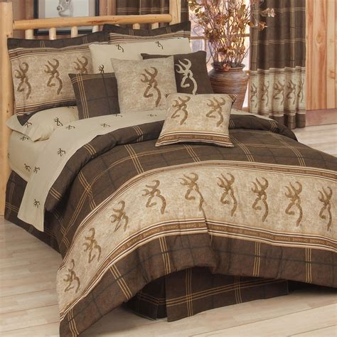 browning comforter set sheets bed in bag twin full queen